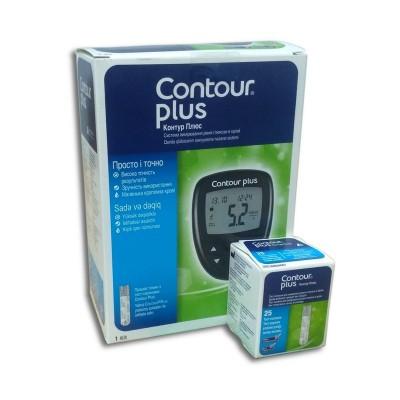 Глюкометр Contour Plus набор