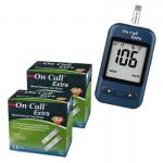 Глюкометр On-Call Extra (Он-Колл Экстра) + 100 шт тест-полосок On-Call Extra