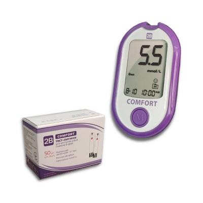 Глюкометр 2В Comfort