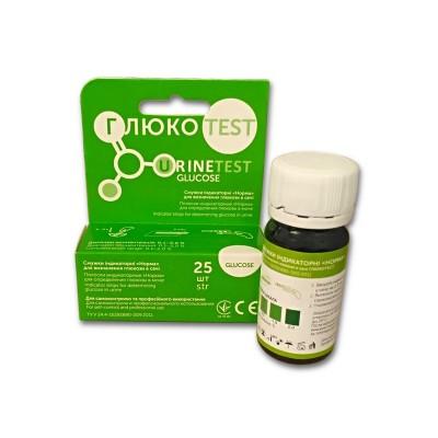Тест полоски Глюкотест №25