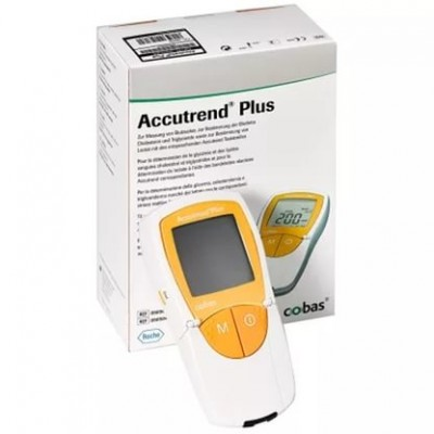 Холестерометр-глюкометр Accutrend Plus