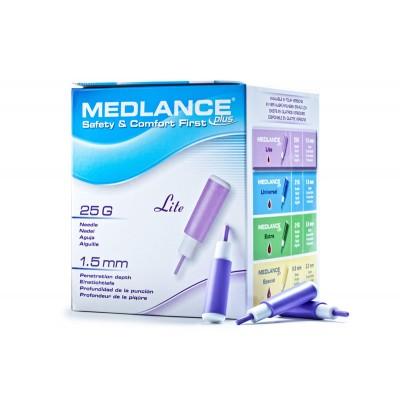 Ланцет автоматический медицинский Medlance Plus Lite (Медланс Плюс Лайт) №200