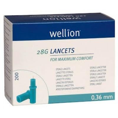 Ланцеты Wellion 28G №200 (200 шт.)