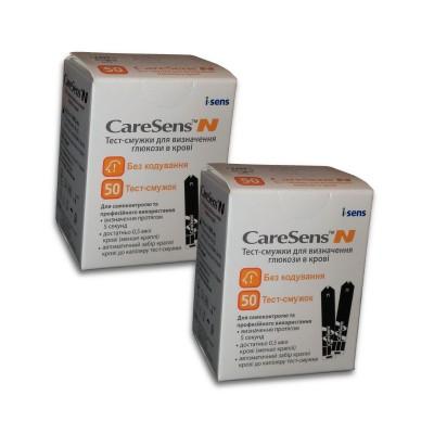 Тест-полоски CareSens N