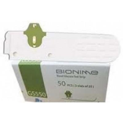 Тест-полоски BIONIME Rightest GS550