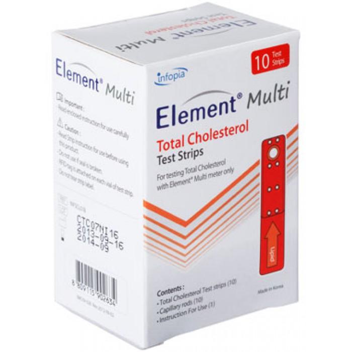 Фото 1 - Тест-полоски Element Multi