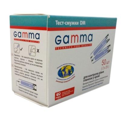 Тест-полоски GAMMA DM