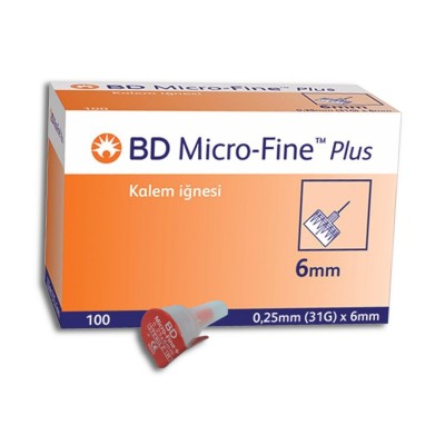 Иглы BD Micro-Fine Plus 6 mm