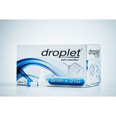 Иглы Droplet 8 mm