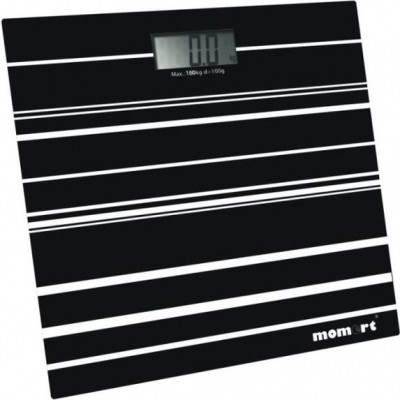 Весы электронные на стеклянной платформе (Полосы) Momert 5848-1
