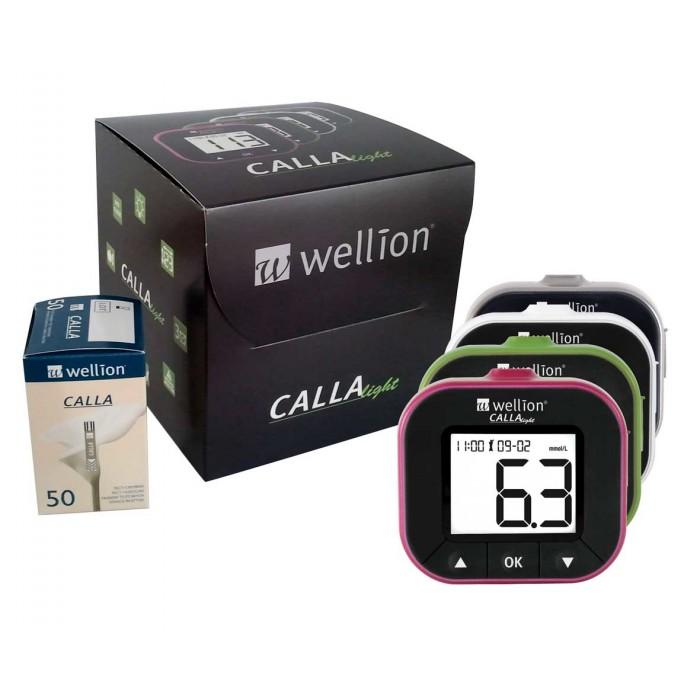 Фото 1 - Глюкометр с тест-полосками Wellion Calla Light