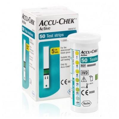 Тест-полоски Accu-Chek Active